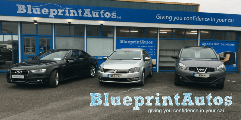 Three cars in Blueprint Autos, Car service and Sales